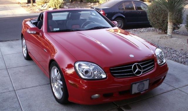 Nove luči na 18 let starem Mercedesu SLK (foto: benzworld)
