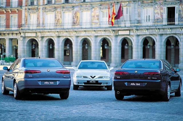 Alfa Romeo 166, pregled napak, težav, okvar in vpoklicev