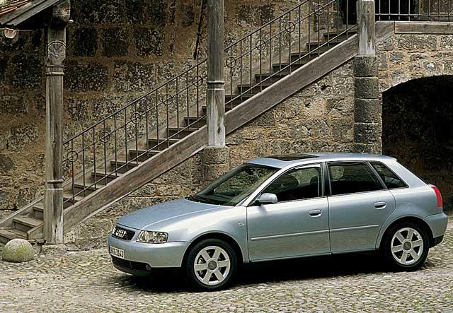 Audi A3, pregled napak, okvar, vpoklicev in težav
