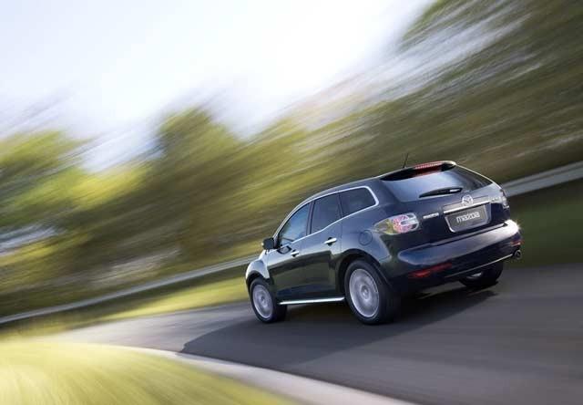Mazda CX-7 rabljen napake težave okvare vpoklici