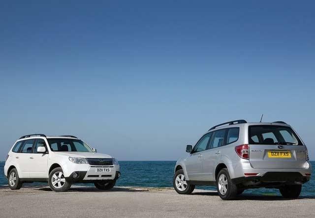 Subaru Forester rabljen napake težave okvare vpoklici