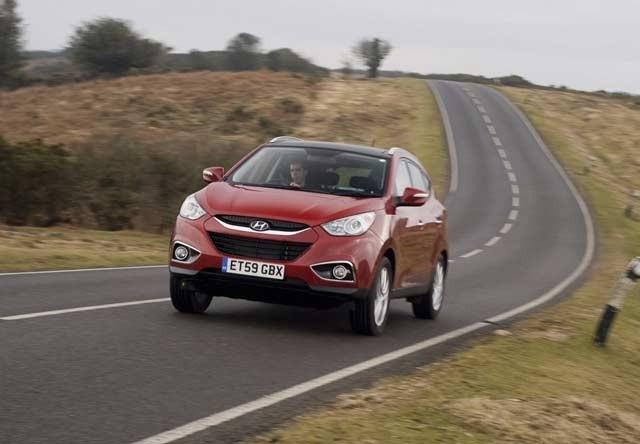 Hyundai ix 35 rabljen napake težave okvare vpoklici