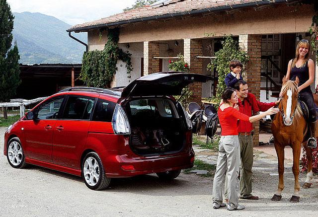 Mazda 5, pregled napak, težav okvar in vpoklicev