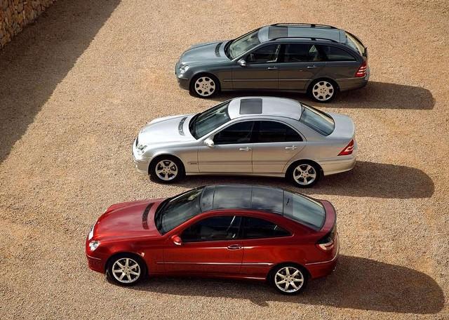 Mercedes-Benz razreda C v vseh različicah