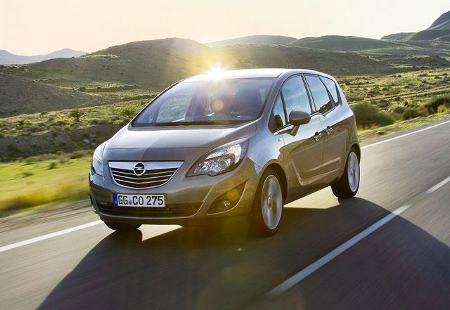 Rabljena Opel Meriva- napake težave okvare vpoklici