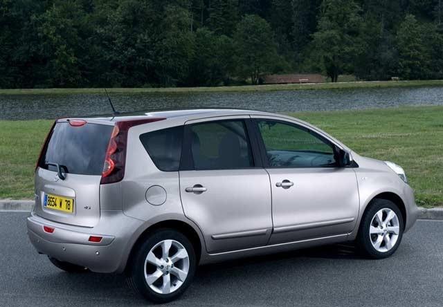 Nissan Note rabljen napake težave okvare vpoklici