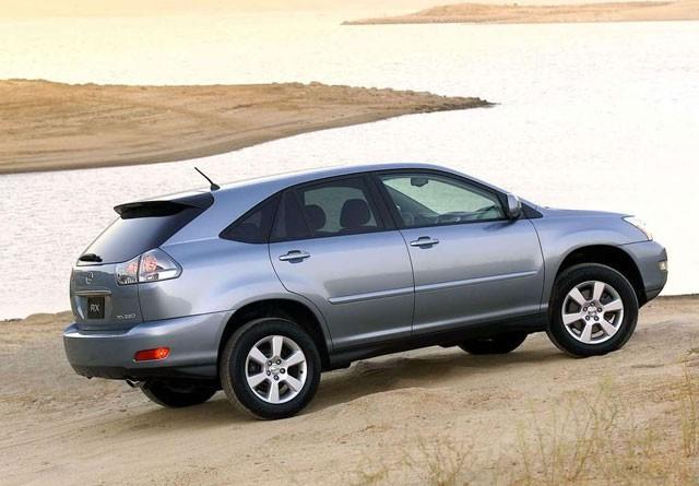 Lexus RX rabljen napake težave okvare
