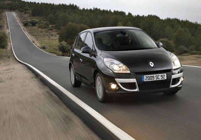 Renault Scenic  rabljen napake težave okvare vpoklici