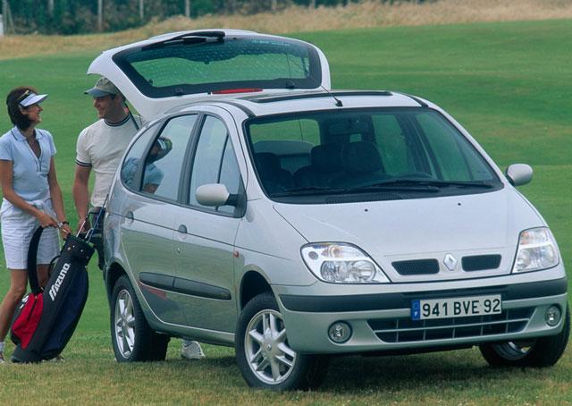 Renault Scenic, pregled napak, težav, okvar, vpoklicev